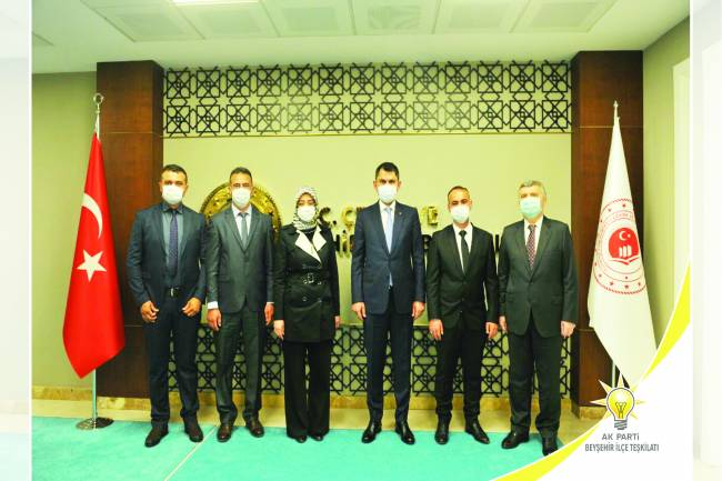Ak Parti İlçe Başkanı Recep Elkin: 'Projeler Bakan Kurum'a iletildi'