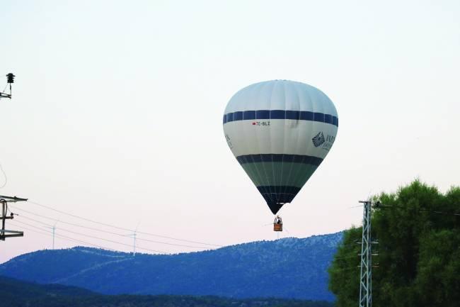 Beyşehir semalarında balon uçuşu