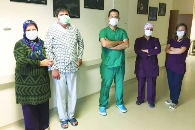 Beyşehir'de ilk kez gerçekleştirilen operasyonla sağlığına kavuştu