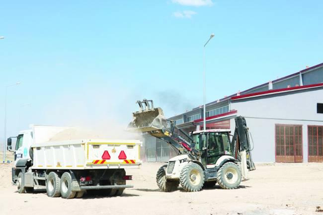 Belediye Yeni Sanayi Sitesini düzenliyor