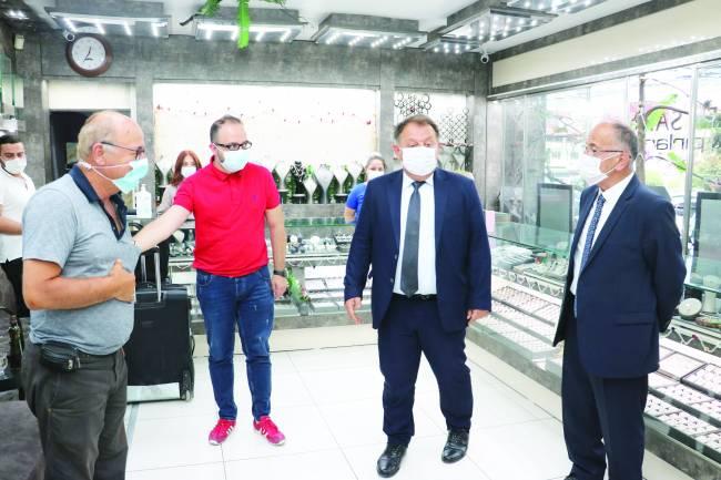 Kaymakam Özdemir ve Başkan Bayındır'dan denetim