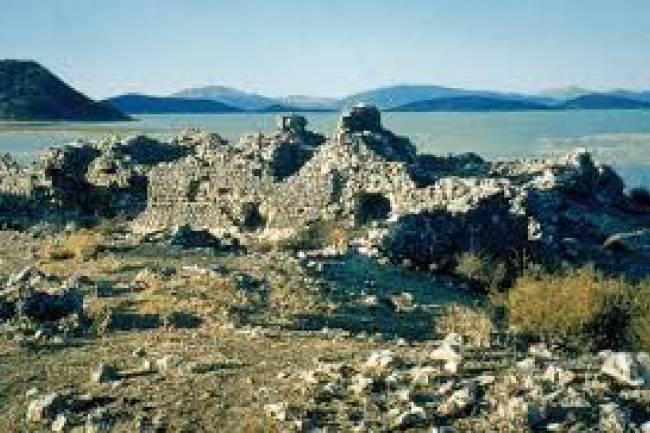Beyşehir Gölü'nde tarihi yapılar keşfedildi