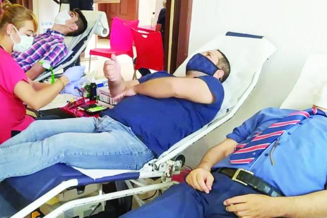 Beyşehir'de din görevlileri kan bağışında bulundu