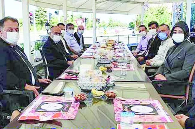 Milletvekili Gülay Samancı, Kaymakam Özdemir ve Başkan Bayındır ile buluştu Beyşehir ve bölge sorunları istişare edildi