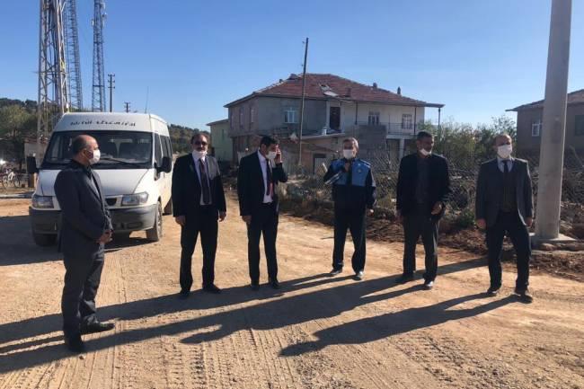 Kaymakam ve Başkan'dan dış mahalle ziyaretleri