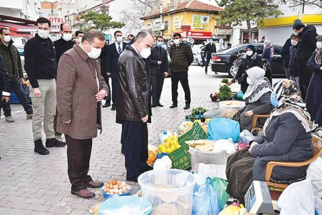 VALİ ÖZKAN, BEYŞEHİR'İ ZİYARET ETTİ