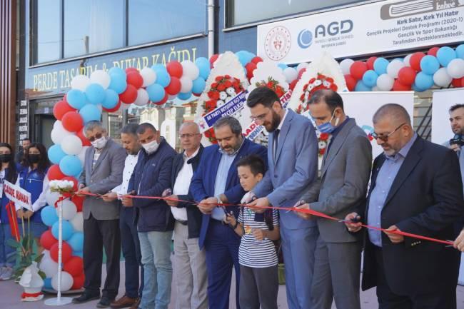 AGD, Kitap Kahve mekanı açıldı