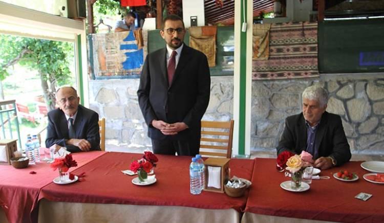 Akış; Başkan Bayındır, Ali Akkanat ve STK Başkanlarıyla Buluştu