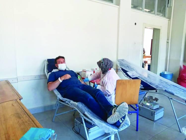 Beyşehir'de kan bağışına destek