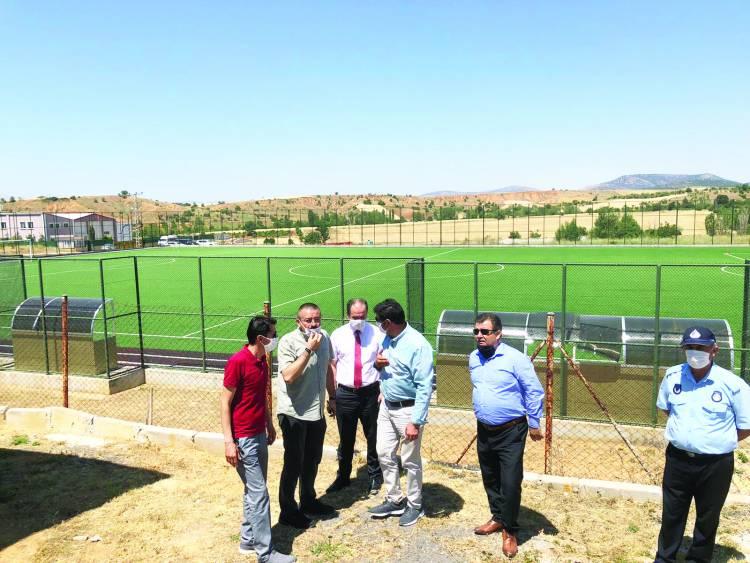 Hüyük'te, Gençlik ve Spor Bakanlığı yatırımları atağı