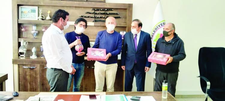 Dünyaca ünlü müzisyen Yamamoto'dan Başkan Mehmet Çiğdem'e ziyaret