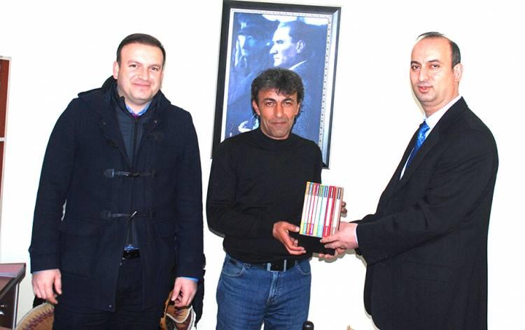 BİK Müdürü Mert'ten Gazetemize Ziyaret
