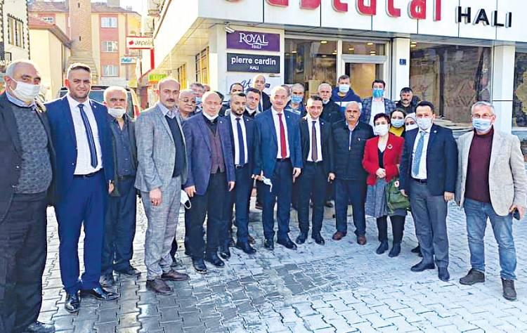 İYİ Parti TBMM Grup Başkanı İsmail Tatlıoğlu Beyşehir'de