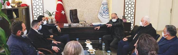 SP Konya Milletvekili Karaduman, Başkan Bayındır'ı Ziyaret Etti