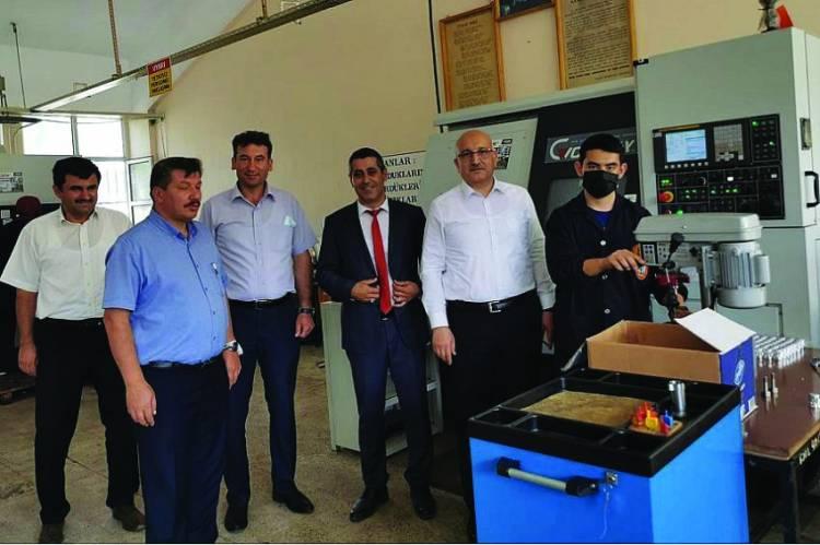 İl Milli Eğitim Müdürü Beyşehir'de